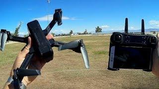 KF607 Folding 2K 4K Camera Drone Flight Test Review
