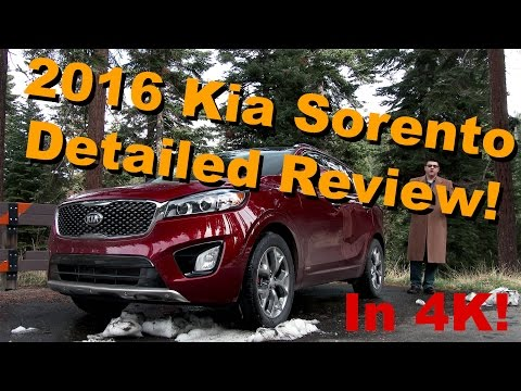 2016 Kia Sorento Detailed Review and Road Test - in 4K!