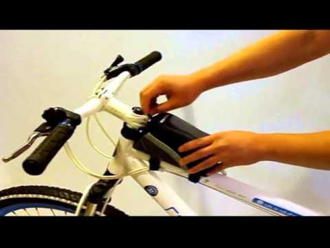 Borsa bici touch screen Roswheel per tubo bicicletta auricolari mountain bike smartphone