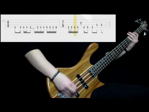 Tool - Lateralus (Bass Only) (Play Along Tabs In Video)