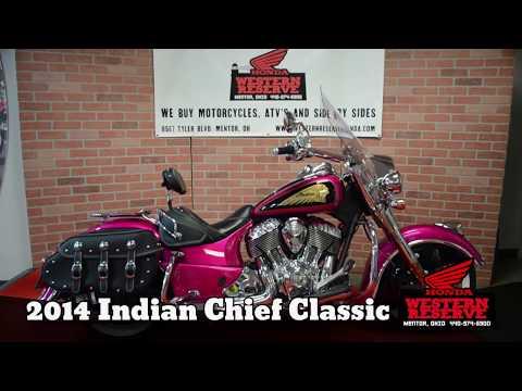 2014 Indian Chief® Classic in Mentor, Ohio