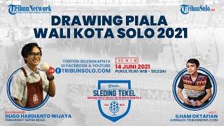 SLEDING TEKEL: Drawing Piala Wali Kota Solo 2021