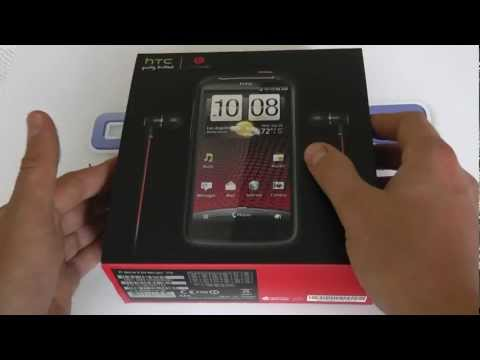 HTC Sensation XE with Beats Audio (Z715e) Android Smartphone Unboxing