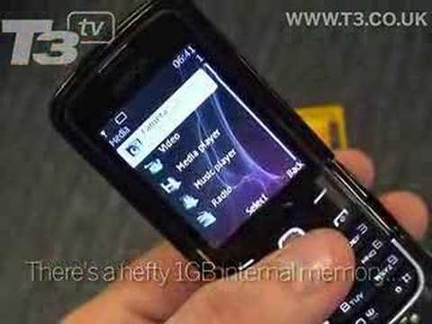 Video: Nokia 8600 Hands-On
