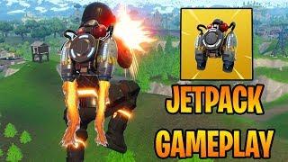 NEW JETPACK GAMEPLAY - FORTNITE JETPACK LTM UPDATE (Fortnite Battle Royale)