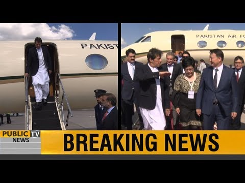 PM Imran Khan arrives in Bishkek to attend SCO Summit, given a warm welcome by Kyrgyz PM