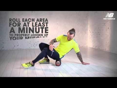 3 foam roller moves for runners