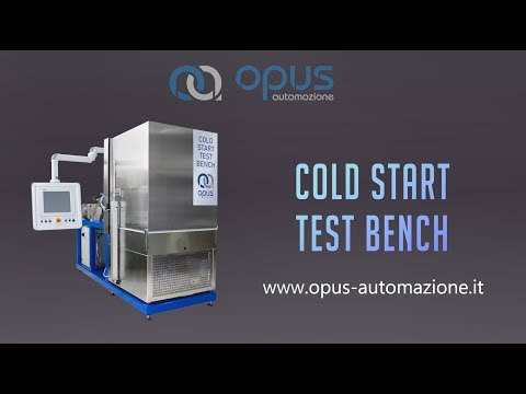 Cold Start Test Bench