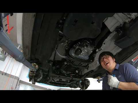 All new discovery Ingenium 2.0 diesel removal part 1