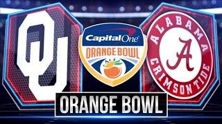 ORANGE BOWL! Oklahoma Sooners Vs. Alabama Crimson Tide LIVE STREAM Reaction