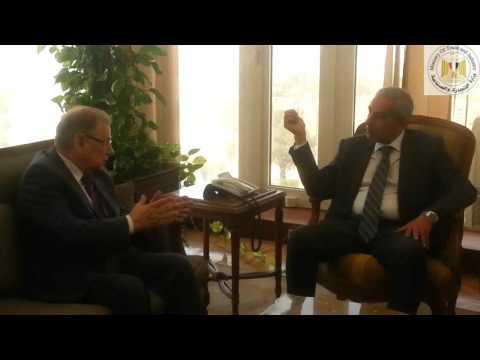 لقاء عاجل للوزير/طارق قابيل مع سفير روسيا لبحث قرارفرضقيودعلىصادرات مصرمنالحاصلاتالزراعية