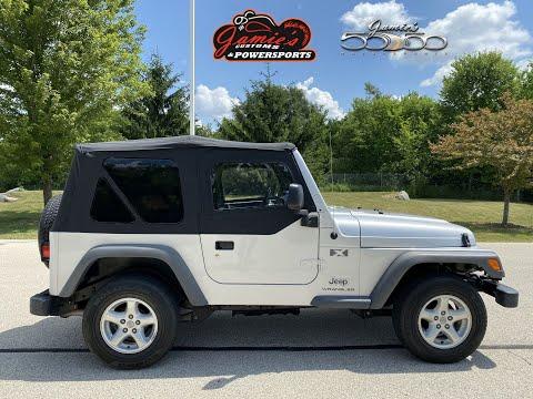 2005 Jeep® Wrangler Sport in Big Bend, Wisconsin - Video 2