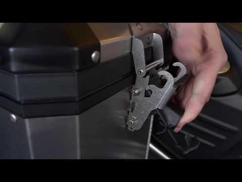 Aluminium koffer rechts/links BMW F 800 GS/GSA | Motorplaza