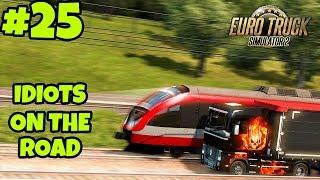 Euro Truck Simulator 2 Multiplayer: IDIOTS on the Road | Random & Funny Moments | #25