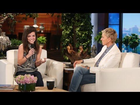 Ellen Meets an Inspirational College Fan