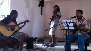 B.B King & Eric Clapton - Hold On I'm Coming Cover by rj,renoy,sinu