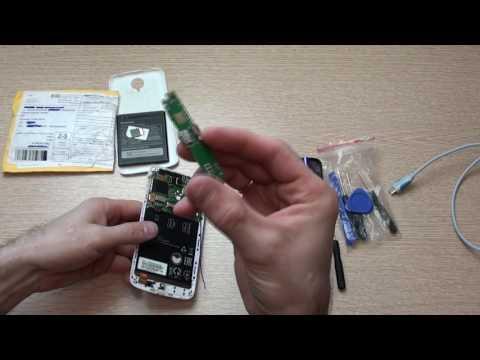 Lenovo S820 замена платы разъема micro USB