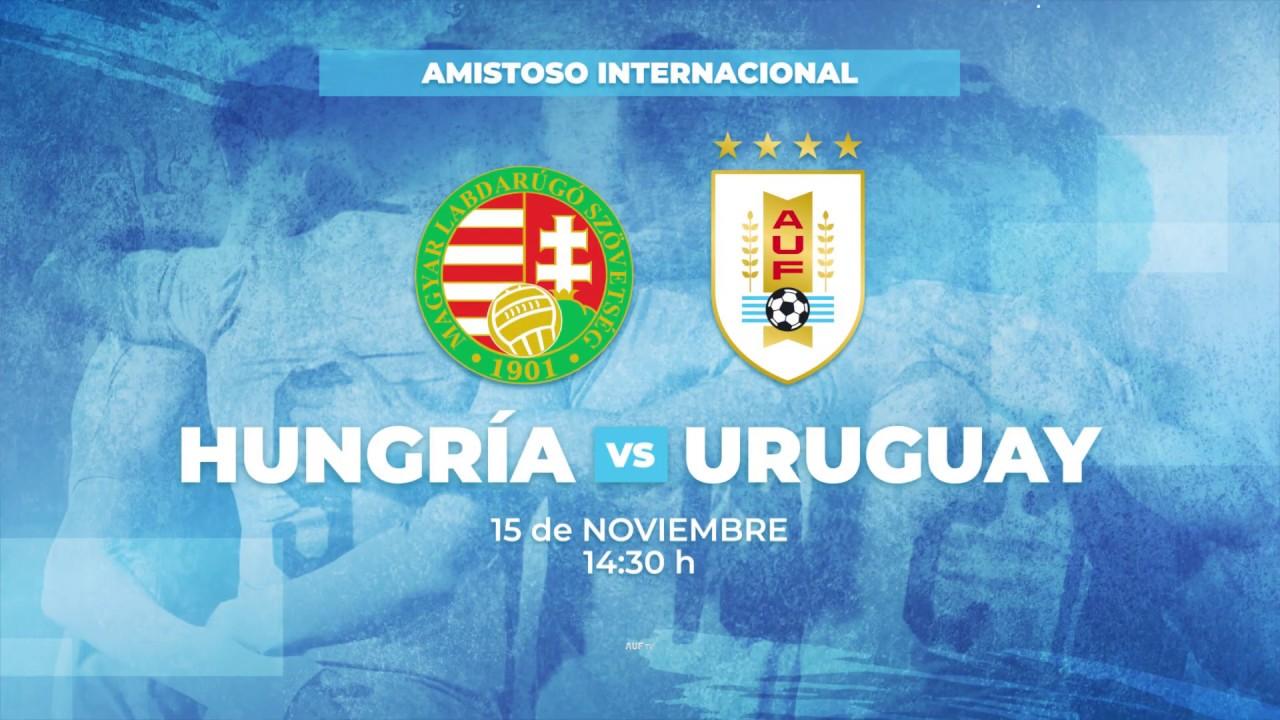 AUF TV transmitirá Hungría - Uruguay a través de Vera+ de Antel desde las 14:30 h
