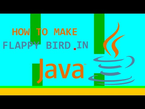 Programming Flappy Bird in Java! (Full Tutorial)