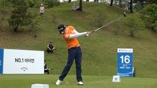 [Slow HD] KIM Hyo-Joo 2013 Driver Golf Swing (1)_KLPGA Tour