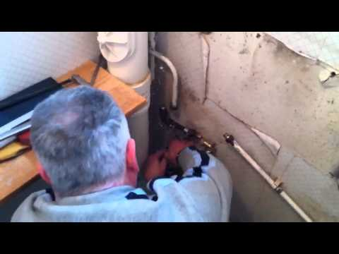 D.I.Y plumbing goes horribly wrong!