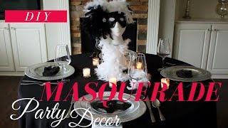 DIY | Masquerade Party Decoration Ideas | Masquerade Centerpiece