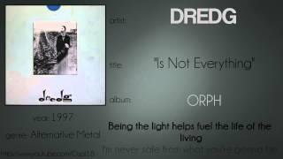 dredg - Is Not Everything (synced lyrics)