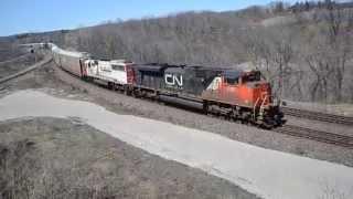 (FPON) CN 148 EX SOO SD60 @ Hamilton West
