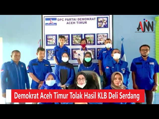 Tolak KLB, Demokrat Aceh Timur: Kami Setia di Bawah Kepemimpinan AHY