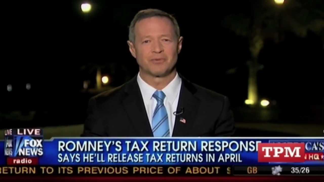 Fox News: Who Cares About Mitt Romney Tax Returns? thumbnail