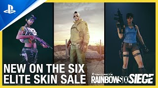 PlayStation Rainbow Six Siege - Elite Skins On Sale Now | PS4 anuncio