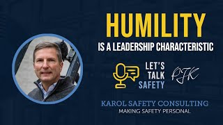 Humility is a Leadership Characteristic