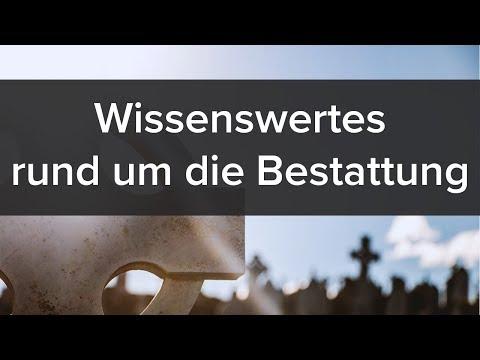 Bestattung: Wissenswertes rund um die Bestattung