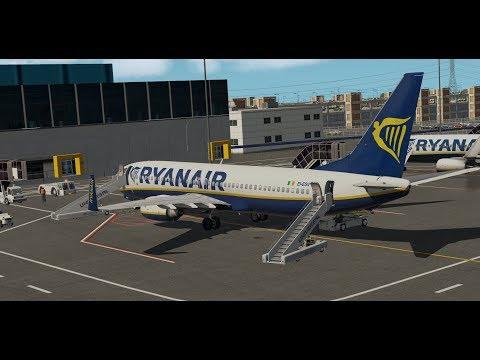 Xplane11] RYR410D | Bergerac-Brussels Charleroi | Zibo 737