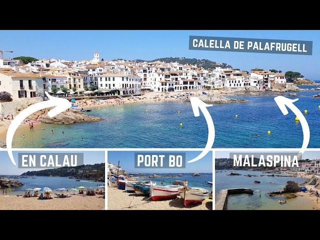 Platja d´en Calau & Port Bo & Platja de Malaspina, Calella de Palafrugell, Costa Brava, España