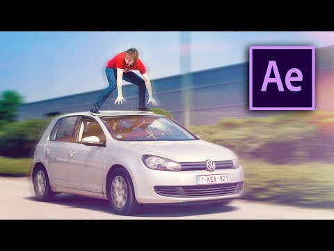 STANDING ON A RIDING CAR !! – After Effects Tutorial