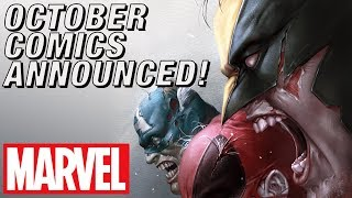 EXCLUSIVE: Marvel Comics October Announcements | Marvel's Pull List
