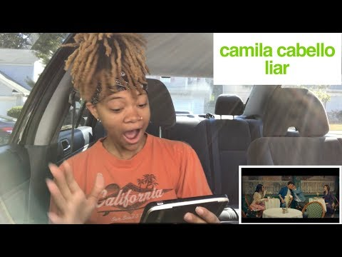 Camila Cabello- Liar (Music Video) REACTION