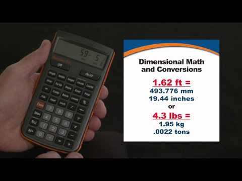 HeavyCalc Pro - Dimensional Math and Conversions