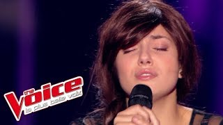 Serge Lama – Je suis malade | Elvya Gary | The Voice France 2015 | Blind Audition
