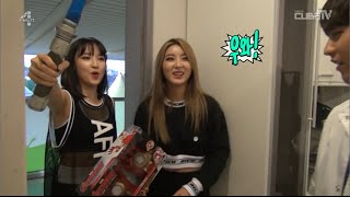 [CC ENGSUB] 4MINUTE - 2015 Dream Concert Backstage