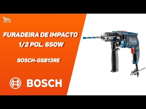 Furadeira de Impacto 1/2 Pol. 650W  - Video