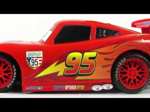 Disney Pixar Cars2 Toys | RC Champion Series Lightning McQueen Toy Review