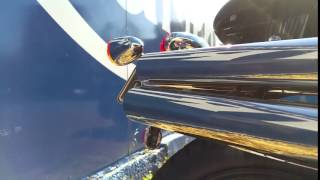 British Customs Shot Gun Exhaust On Triumph Scrambler