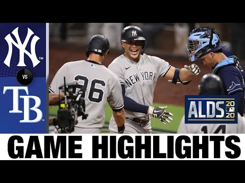 Aaron Judge, Giancarlo Stanton homer in Game 1 win | Yankees-Rays Game 1 Highlights