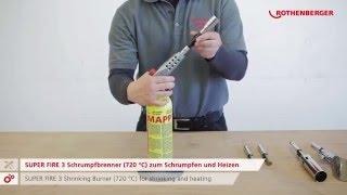 SUPER FIRE 3 – Kartuschen Hartlöten