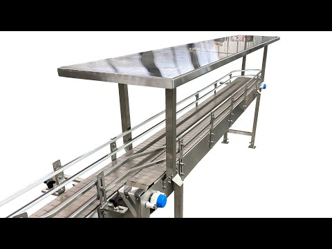 Video - Pack-off Accumulation Tables   Laughlin Conveyor