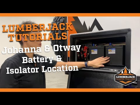 Johanna & Otway Ultra Light Battery & isolator location