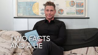 Two Facts and a Lie: Real Life Mysteries with Rob Lowe