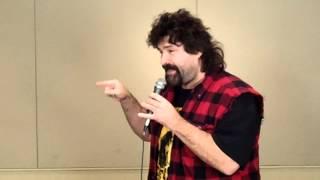 Cactus Jack aka Mick Foley – Fan Wrestling Promo – January 29, 2012